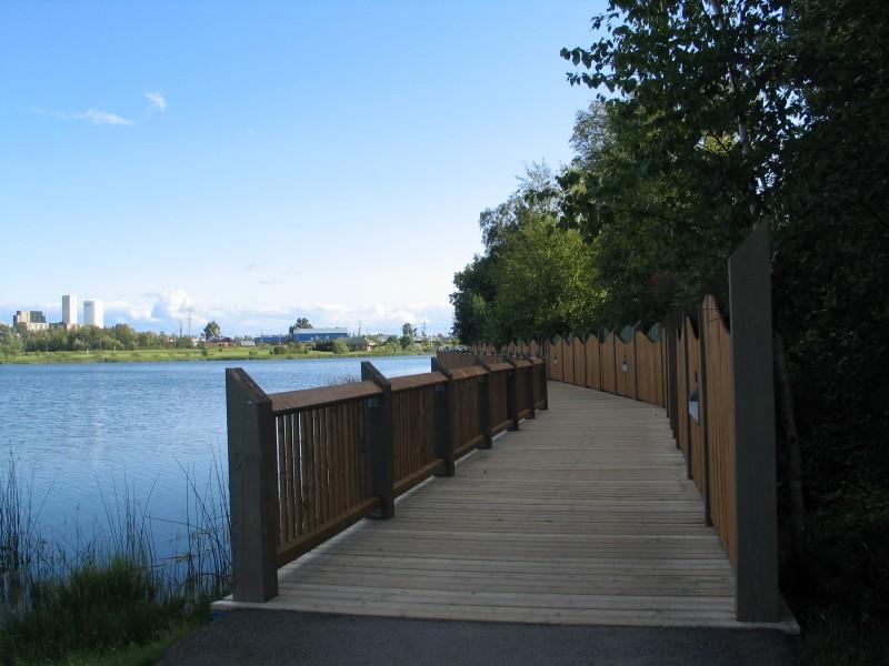 Promenade du lac Gillies