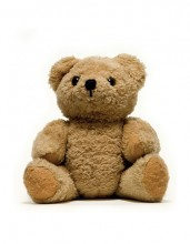 brown teddybear sitting